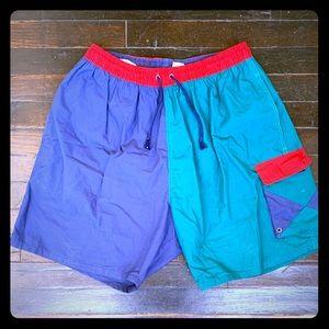 1990's wave runner shorts